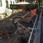 Albaro – Lavori fermi da mesi in piazza Leopardi