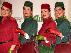 Cappellini Alitalia ispirati alle Cinque Terre