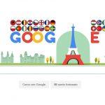 Europei 2016 – Google crea un doodle con la Torre Eiffel che palleggia