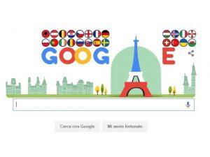 Google celebra gli Europei di Calcio 2016
