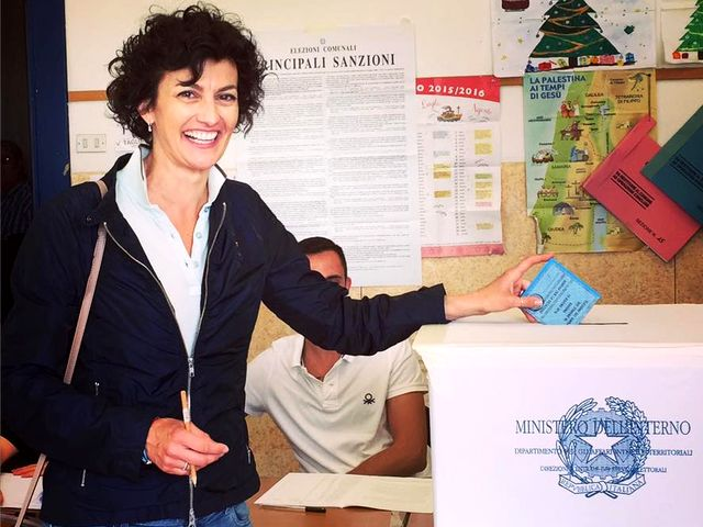 Elezioni Savona - Ilaria Caprioglio in vantaggio con il 53,3%