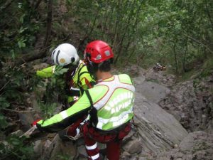 In corso il recupero delle salme de due alpinisti precipitati sul Monte Rosa