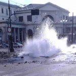 Genova, esplode tubatura a Principe: traffico deviato