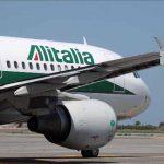 Fiumicino, motore aereo Alitalia in fiamme prima del decollo