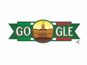 Il doodle dedicato alla Repubblica Italiana