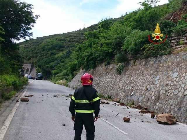 Isoverde di Campomorone, circolazione interrotta dalle 22 alle 6 su Sp6