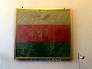 Prima bandiera Tricolore a Genova