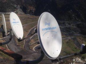 Il sistema di monitoraggio delle piogge installato a Scarpino