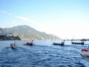 Domani nelle acque di Amalfi si terrà la 61esima edizione della regata storica