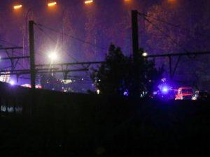 Nella foto, i soccorsi a Hermalle sous Huy