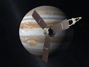 Sonda Juno nell'orbita di Giove