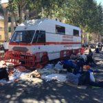Ventimiglia – Primi 100 migranti trasferiti, ma non basta