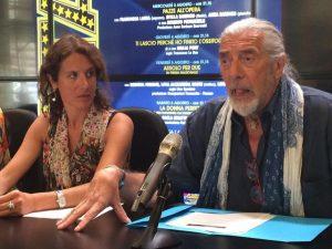 Ilaria Cavo e Shel Shapiro