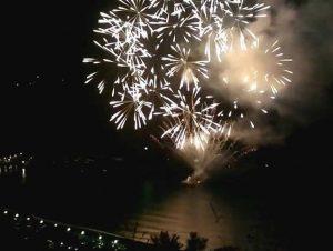 Varazze - Fuochi d'artificio sul mare il 15 agosto