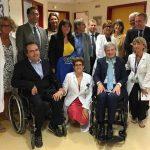 Vicepresidente Viale in visita al centro clinico Nemo di Arenzano