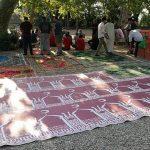 Festa Eid al Fitr per la fine del Ramadan musulmano all'Acquasola