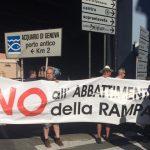 Sampierdarena dice no all'abbattimento della rampa della Sopraelevata