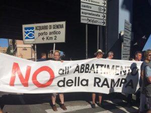 Manifestazione Sampierdarena