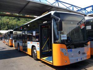 Genova, consegnati 4 nuovi mezzi Amt