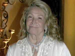 Marta Marzotto, morta a 85 anni a Milano