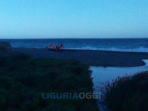 Soccorso in mare a Voltri