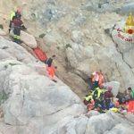Rocciatore cade a Capo Noli, salvato dall'elicottero