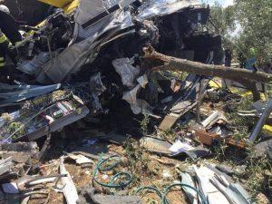 Puglia, si aggrava bilancio vittime scontro treni
