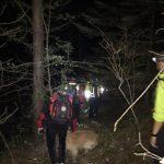 Escursionista dispersa ritrovata dai vigili del fuoco nello spezzino