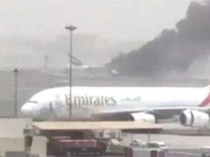 L'aereo Emirates di Dubai