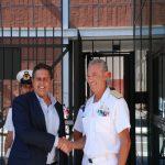 Genova, il presidente Toti incontra l'ammiraglio Pettorino e la Capitaneria di Porto