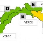 Allerta Gialla per maltempo in Liguria