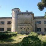 Incendio alla ex Colonia Olivetti di Sarzana