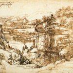 """Il """"Paesaggio"""" di Leonardo ritorna a Vinci"""