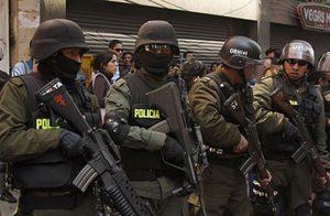 polizia Bolivia