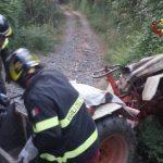 La Spezia – Anziano muore schiacciato dal proprio trattore