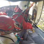 San Fruttuoso di Camogli, si sente male: salvato da elicottero