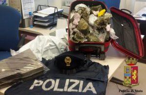 droga sequestrata a Marassi