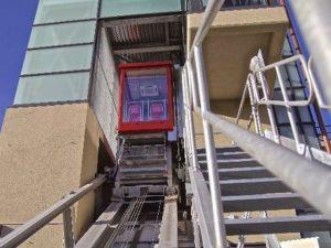 l'ascensore di Quezzi