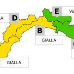Liguria, da mercoledì alle 20 allerta gialla sul Centro-Ponente. Durerà sino a giovedì