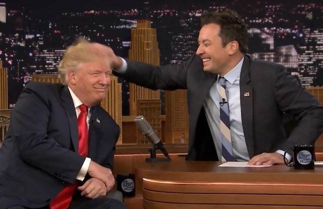 Donald Trump e Hillary Clinton ospiti del Tonight Show su FOX