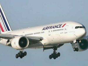 Un boeing della Air France