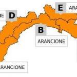 Allerta Meteo in Liguria – Ora è arancione