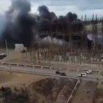 Incendio nella centrale elettrica, Porto Rico al buio