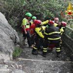 La Spezia, Vigili del Fuoco soccorrono turista sul sentiero tra Vernazza e Corniglia