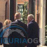 Genova, il Presidente del Senato Pietro Grasso in visita a Boccadasse