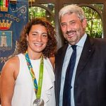 Recco – Premiata la campionessa olimpica Roberta Bianconi
