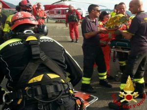 La Spezia, mattinata di soccorsi per i Vigili del Fuoco