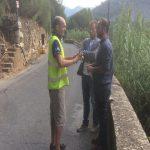 Ventimiglia, iniziati i lavori di allargamento della strada tra Bevera e Calvo