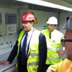 """Savona, sopralluogo del presidente Toti al cantiere della nuova galleria """"San Paolo"""""""