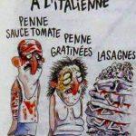 Terremoto – La vignetta di Charlie Hebdo che indigna gli italiani